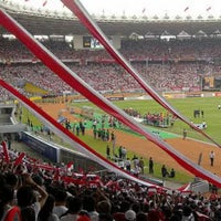 Photo taken at Stadion Utama Gelora Bung Karno (GBK) by Randall S. on 3/23/2013