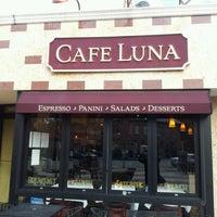 Photo taken at Cafe Luna by Anthony H. on 10/24/2012