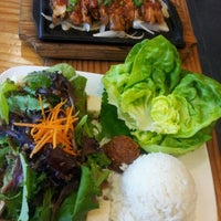 Photo taken at CHAM Korean Bistro by Anthony H. on 9/19/2012