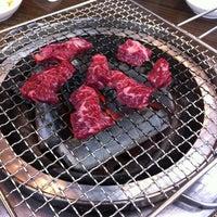 Photo taken at 통나무집 by Jeewon I. on 1/19/2013
