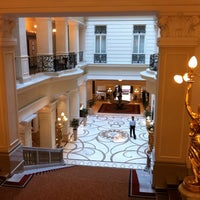 Photo taken at Corinthia Hotel Budapest by Роман Н. on 3/23/2012