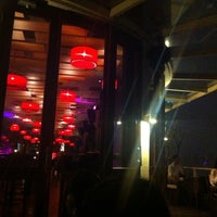 Photo taken at The Rooftop Bar & Restaurant by Lini W. on 2/25/2012