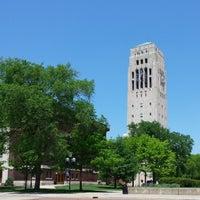 Photo taken at Burton Memorial Tower by Guilherme C. on 5/31/2014