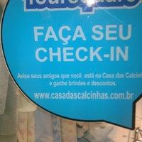 Photo taken at Casa das Calcinhas by Filipe O. on 7/4/2013