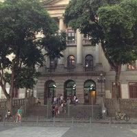 Photo taken at Instituto de Filosofia e Ciências Sociais (IFCS) by Pedro on 4/19/2013