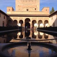 Photo taken at La Alhambra y el Generalife by Kahurangi R. on 12/21/2014