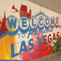 Photo taken at McCarran International Airport (LAS) by Dany P. on 11/7/2013