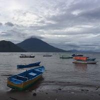 Photo taken at Pantai Fitu by Lee w. on 7/27/2016