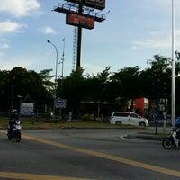 Photo taken at Traffic Light Gate UiTM Seksyen 7 by Faizar A. on 8/24/2016