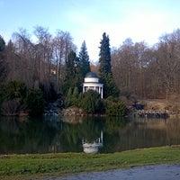 Photo taken at Bergpark Wilhelmshöhe by Polyana F. on 1/11/2014