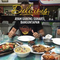 Photo taken at Ayam Goreng Suharti by Ajim A. on 4/24/2015