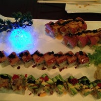 Photo taken at K Asian Bistro Sushi Bar by Mia on 9/21/2013