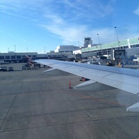 Photo taken at Gate A4 by Carl T. on 4/16/2013