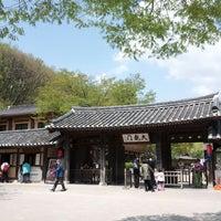 Photo taken at Korean Folk Village by bbangyang on 5/1/2013