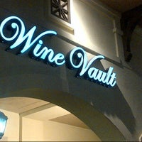 Photo taken at Wine Vault by Christophe H. on 10/8/2012