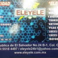 Photo taken at Metrobús El Salvador L4 by Ricardo I. on 10/6/2013