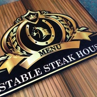 Photo taken at Stable Steak House by Ajami H. on 2/15/2013