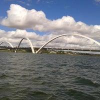 Photo taken at Lago Paranoá by Carla J. on 6/9/2013