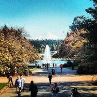 Photo taken at University of Washington by Aaron M. on 5/1/2013