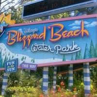 Photo taken at Disney's Blizzard Beach Water Park by Kimmy on 5/9/2013