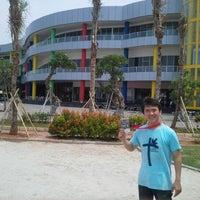 Photo taken at Mata Elang International Stadium (MEIS) by Benny M. on 11/14/2012