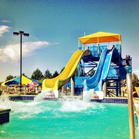 Photo taken at Roaring Springs Water Park by Troy P. on 7/22/2012