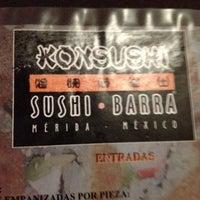 Photo taken at Konsushi by Karlo C. on 5/21/2012