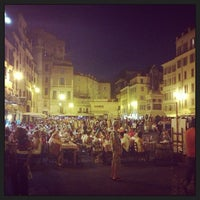 Photo taken at Campo de' Fiori by Oleg R. on 7/26/2013