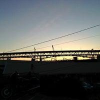 Photo taken at Ship Canal Bridge by Kate K. on 3/30/2013