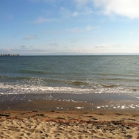 Photo taken at Robert W. Crown Memorial State Beach by Lizzie on 8/12/2013