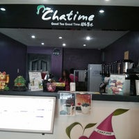 Photo taken at Chatime by Eddie Boy A. on 5/25/2013