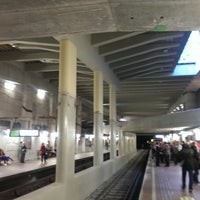 Photo taken at Brussels-Schuman Railway Station by Andy M. on 10/4/2013