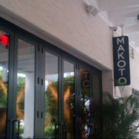 Photo taken at Makoto by Andrés R. on 9/23/2012