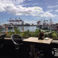 Photo taken at Nico's at Pier 38 by Derek N. on 10/8/2013