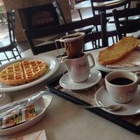 Photo taken at Fran's Café by Alex R. on 10/15/2013
