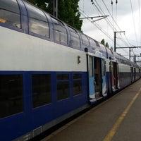 Photo taken at Gare SNCF de La Verrière by Emeric S. on 4/19/2014