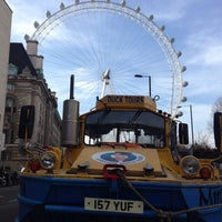 Photo taken at London Duck Tours by Lynsey P. on 3/8/2014