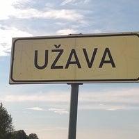 Photo taken at Užavas ciems by Garais V. on 7/20/2014