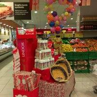 Photo taken at Carrefour market by Manuela L. on 2/21/2014
