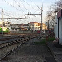 Photo taken at Stazione Novate Milanese by Stefano S. on 1/21/2014