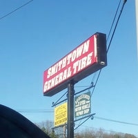 Photo taken at Smithtown General Tire by Ryan Adrian H. on 3/18/2014