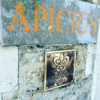 Photo taken at Apicius by Dee ♡. on 10/4/2016