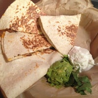 Photo taken at Qdoba Mexican Grill by Daniela F. on 9/30/2013