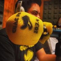 Photo taken at Cuac FM - Estudio José Couso by Victor G. on 12/28/2013