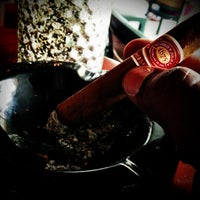 Photo taken at King Corona Cigars Cafe & Bar by Stephen B. on 4/15/2013
