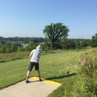 Photo taken at Bryant Lake Disc Golf Course by Joan F. on 8/14/2015