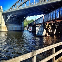 Photo taken at Boston University Bridge by Ukemeabasi E. on 9/22/2013