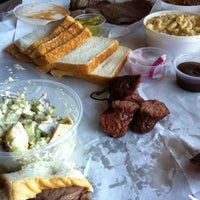 Photo taken at Lockhart Smokehouse by Steve V. on 11/3/2012