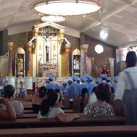 Photo taken at St. James the Greater Parish by kim R. on 3/25/2014