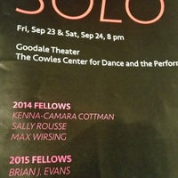 Photo taken at The Cowles Center for Dance & The Performing Arts by Steve J. on 9/24/2016